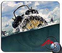 ZMviseは海の背景で失われましたファッション漫画マウスパッドマットカスタム四角形ゲームマウスパッド