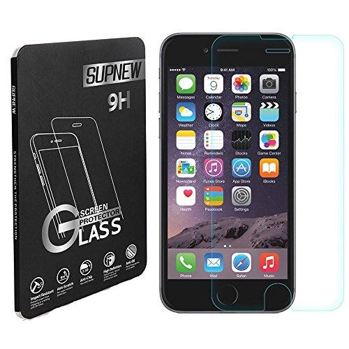 [2-Pack] iPhone 6/6s Pellicola Protettiva, Supnew Premium in Vetro Temperato per iPhone 6/6s