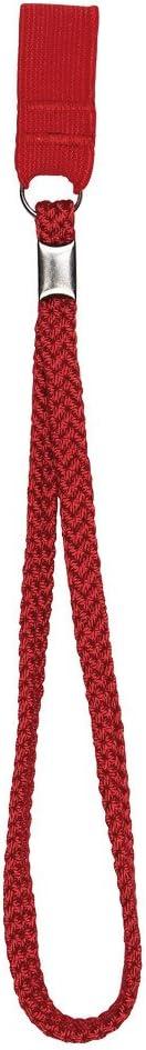 Cinturino da polso per bastoni da passeggio colore rosso