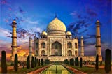 Aixmuy Puzzles Rompecabezas para Adultos 1000 Piezas Rompecabezas Taj Mahal Paisaje Montaje Educativo Juguetes Educativos para Niños Regalos