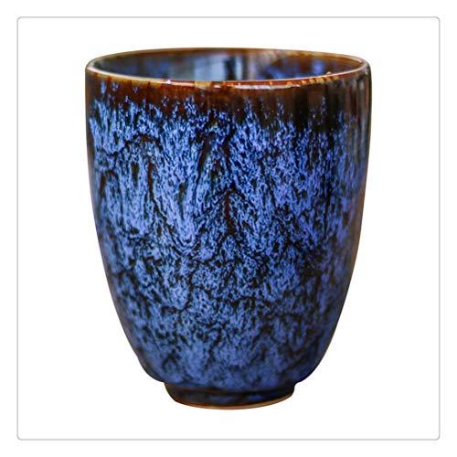 Yousiju 250ML China Teetasse Brennofenwechsel Keramik Teetassen Reisetasse Home Teetasse Kreative Keramik Tasse Teeservice