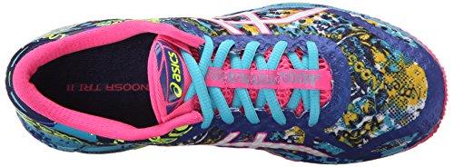 ASICS Women's Gel-Noosa Tri 11 Running Shoe, Asics Blue/White/Hot Pink, 9 M US 8