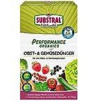 Substral Performance Organics Obst & Gemüse Dünger, Hochwertiger, natürlicher Volldünger für...