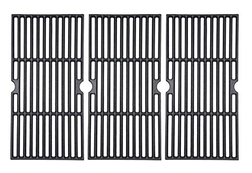 """GasSaf 16 7/8"""" Grill Grates Replacement for Charbroil 463420508, 463420509, 463420511 463436213 463436214 463440109 Master Chef Thermos Backyard and Others Cast Iron Grill Grid"""