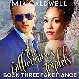 The Billionaire's Triplets, Book 3: The Fake Fiance audiobook cover art