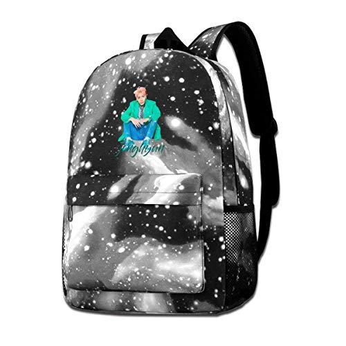 Hdadwy Unisex Galaxy Jongh Yun Suit Up Mochila escolar Bolsa para computadora portátil Mochila deportiva de viaje para hombres, mujeres, jóvenes, niños
