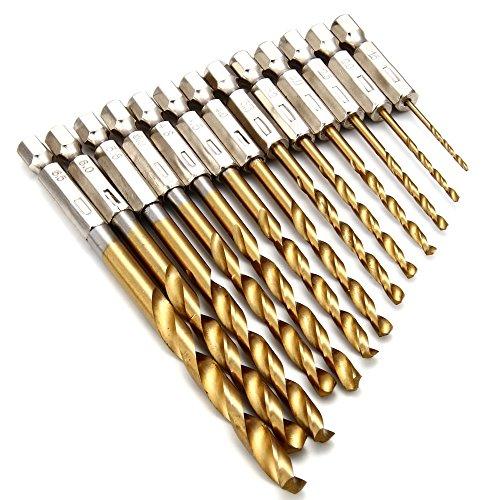 en alliage d/'aluminium 5pcs 4.8 mm Twist Drill HSS Bit HSS-4241 pour acier