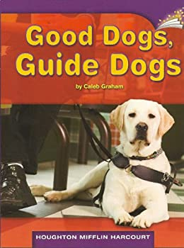 Paperback Good Dogs, Guide Dogs (Online Leveled Books, Guided Reading Level O, DRA Level 38) Book