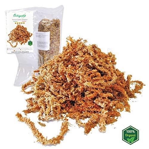 Esfagno Chileno Premium en Fibra 150 gr., Sustrato Natural de Esfagno Musgo...