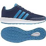 Adidas Cloudfoam Race K, Chaussures de Tennis Mixte Enfant, Bleu...