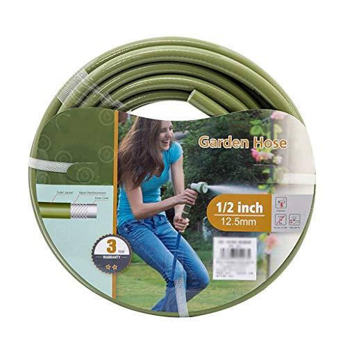ChengLao - Schlauchhaspel Gartenschlauch, Bauernhof-und Ranch 4-Punkt-Wasser-Rohr-Haushalt Bewässerung Garten Car Wash Bewässerung Gemüse Bewässerung Rohrstutzen PVC Plastikschlauch