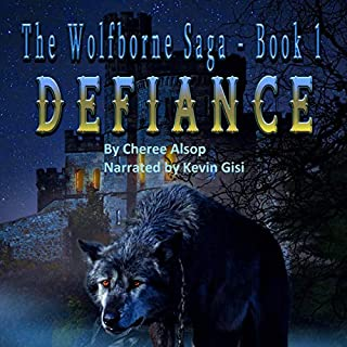 Defiance     The Wolfborne Saga, Book 1              By:                                                                                                                                 Cheree Alsop                               Narrated by:                                                                                                                                 Kevin Gisi                      Length: 5 hrs and 45 mins     2 ratings     Overall 4.5