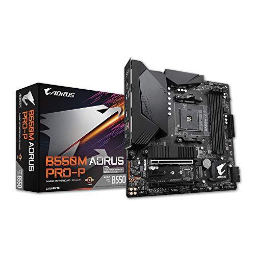 MB Gigabyte B550M AORUS Pro-P (B550,AM4,mATX,AMD)