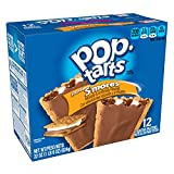 Kellogg's Pop-Tarts Frosted S'mores Toaster Pastries - Fun Breakfast for Kids (12 Count)