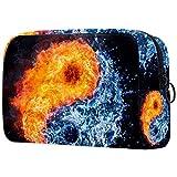 Kosmetikkoffer Ice Fire Taiji großes Fassungsvermögen, wasserabweisend, Make-up-Kosmetiktasche,...