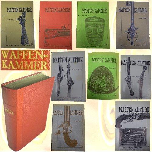 Waffenkammer, mehrere Ausgaben - gebunden (Leder), Heft 1,2,3-68,4-69, 5-70,1-72, 2-72, 3-73, 8-73, wertvolles Sammlerstück