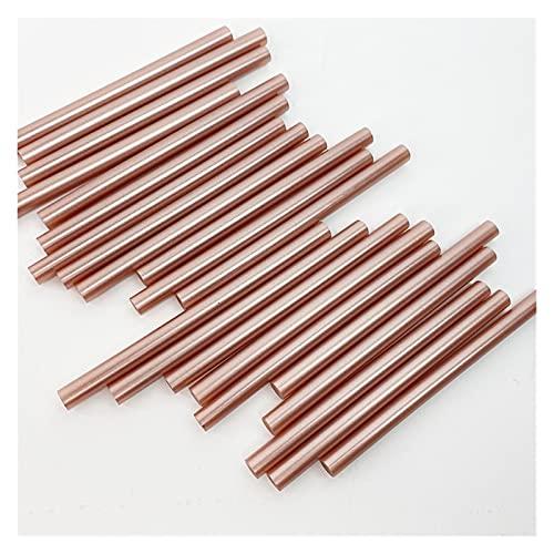 A1-Brave Barras de Silicona, Hot Melt Glue Stick Retro Metallic Color Bronce Rosa Oro Laca Sello de Cera DIY Herramientas Adhesivo de Alta viscosidad 20pcs * 7mm * 100mm