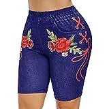 Damen Sport Shorts Casual Elastische Taille Yoga Kurze Hosen Damen Jogger Freizeit Shorts Sweatpants...
