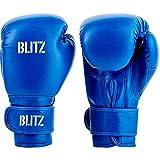 Blitz Kids Training Guantes de Boxeo, Azul, 6oz
