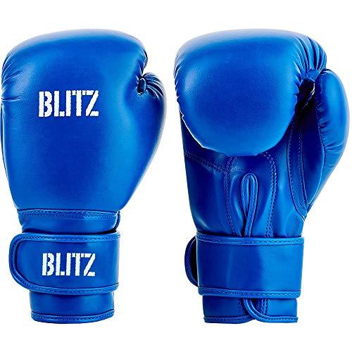 Blitz Unisex, Jugendliche Kids Training Boxhandschuhe, blau, 226,8 g (8 oz)