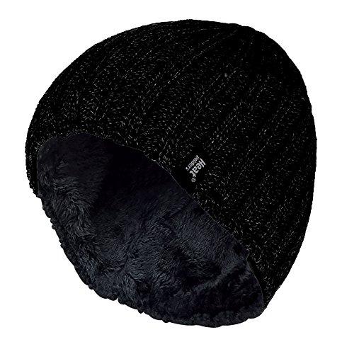 Heat Holders - Bonnet - - Uni Homme Noir Noir, Black, Taille unique