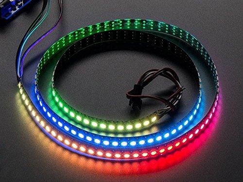 Adafruit NeoPixel Digital RGB LED Strip 144 LED - 1m Black [ADA1506]