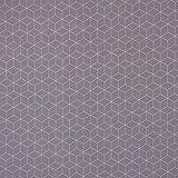 SCHÖNER LEBEN. Gardinenstoff Dekostoff Geometrisch grau