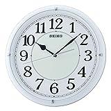 SEIKO Pared Analógico Cuarzo Relojes de Pared de Plástico QXA734W