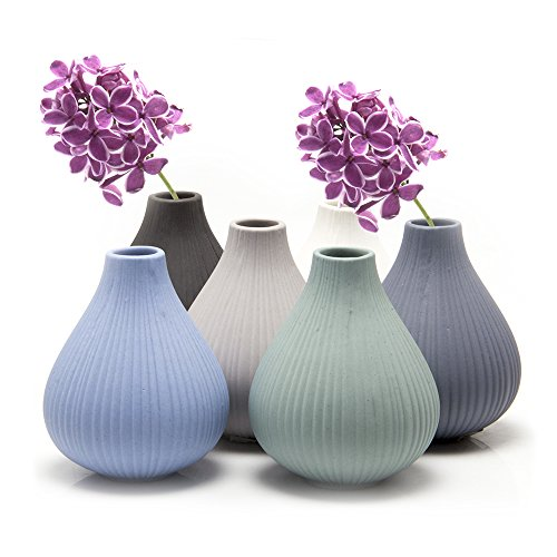 51. Small Ceramic Vase for Home Decor Flowers and House Plants