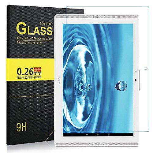 IVSO Schutzfolie Für Acer Iconia One 10 B3-A42/B3-A40, 9H Härtegrad, Schutzfolie Glas Panzerfolie Displayfolie Displayschutzfolie Für Acer Iconia One 10 B3-A42/B3-A40, (1 x)
