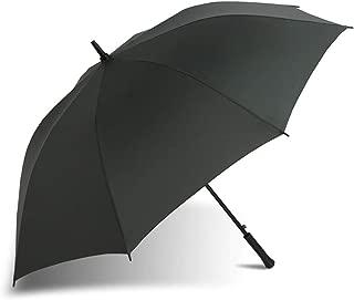 YQRYP Umbrella Long Handle Men's Business to Increase Double Semi-Automatic Straight Umbrella Advertising Umbrella Custom Umbrella Windproof Umbrella, Golf Umbrella (Color : Green)