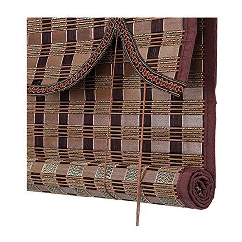 LIANGJUN Bamboe Gordijn Rolgordijn Brede Film Roll Type Weave Cover Licht Chinese Stijl Woonkamer Partitie Decoratie - Restaurant