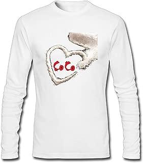 Hefeihe DIY O.T. Genasis Coco Men's Long-Sleeve Fashion Casual Cotton T-Shirt