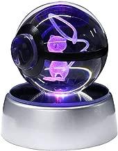 Pokemon Raichu Pokeball  3D LED Laser Night Light Table Desk Lamp Gift