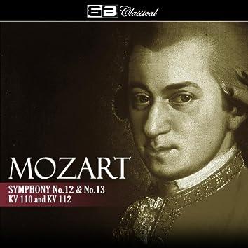 Mozart Symphony No. 12 & No. 13 KV 110 &112