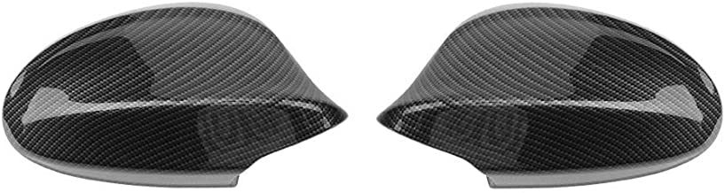 Carbon Fiber Rearview Side Mirror Cover for BMW 3 Series E90 Facelift 328i 323i 335d 335i (Pair) (E90 2009-2012)