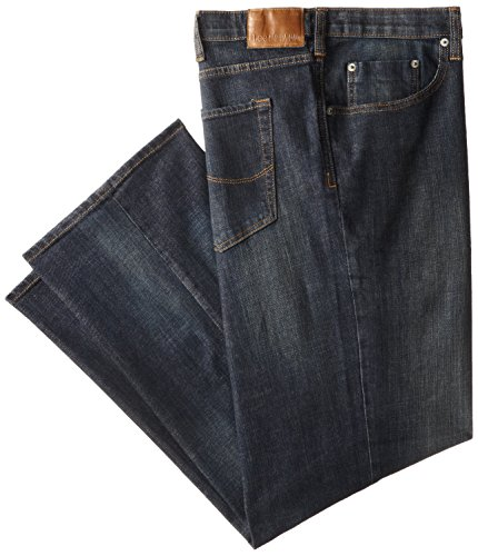 Lee Men's Big-Tall Modern Series Custom Fit Relaxed Straight Leg Jean, Storm Rider, 50W x 34L