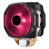 Cooler Master MasterAir MA610P RGB CPU Air Cooler, 6 CDC 2.0 Heatpipes, Aluminum Fins, Push-Pull, Dual MF120R RGB Fans, RGB Lighting for AMD Ryzen/Intel LGA1200/1151