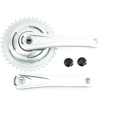 Fahrrad Alu Kurbelgarnitur 3-fach 44//32//22 Zähne TRACER ROMAX ISIS 170 mm