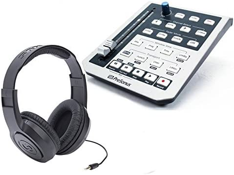 PreSonus FaderPort USB DAW Controller and Limited Special Campaign price sale with Headphones Bundle