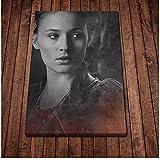 FRTTCYO Poster Sansa Stark Poster Leinwand Kunst Poster und