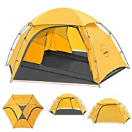 Kazoo Waterproof Backpacking Tent Ultralight 2 Person Lightweight Camping Tents 2 People Hiking Tents Aluminum Frame Double Layer