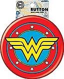 Ata-Boy DC Comics Wonder Woman Logo Botón gigante con caballete...