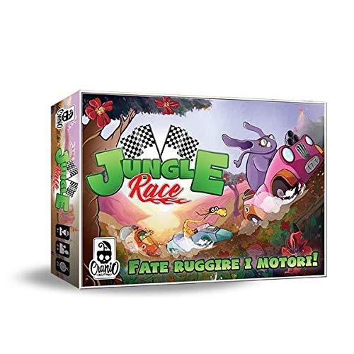 Cranio Creations Jungle Race Board Game Multicoloured CC113