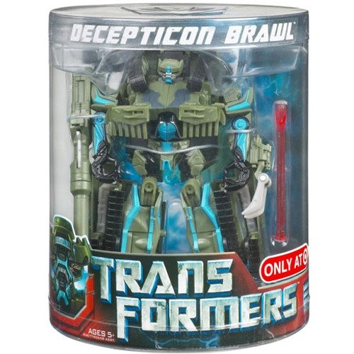 TRANSFORMERS - TARGET EXCLUSIVE - Movie Deluxe - DECEPTICON - BRAWL