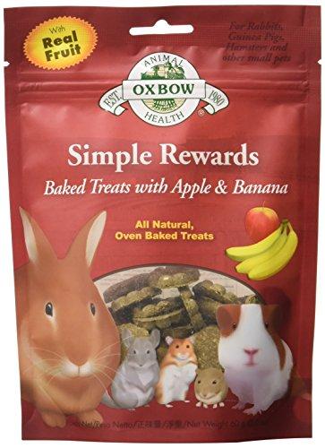 Oxbow Apple and Banana Simple Rewards Baked Treats