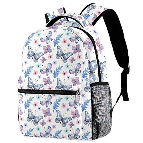 Yorkie Mochila escolar mochila libro bolsa casual mochila para viajes, estampado 6 (Multicolor) - bbackpacks004