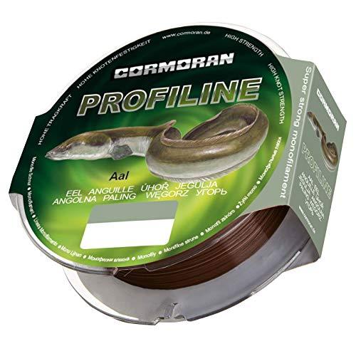Cormoran Profiline Aal 0,40mm 300m 12,9kg 36-141440 Aalschnur Angelschnur für Aal Aale