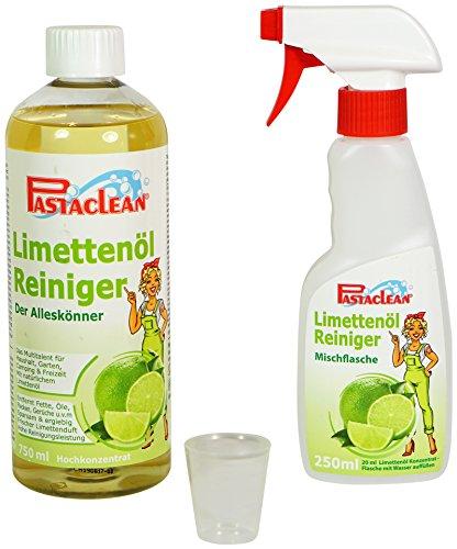 Pastaclean Limettenöl Reiniger Universalreiniger Hochkonzentrat 750 mL