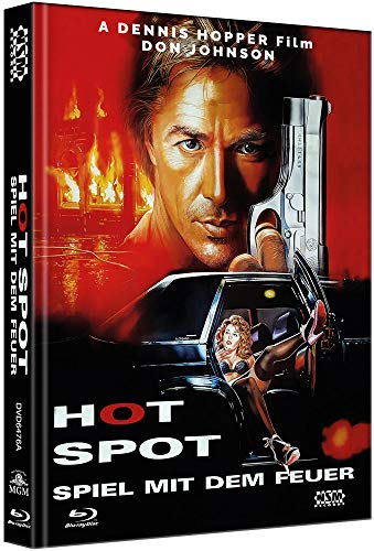 The Hot Spot [Blu-Ray+DVD] - uncut - auf 333 limitiertes Mediabook Cover A [Limited Collector's Edition]